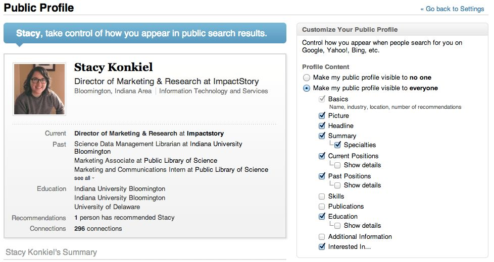 7 tips to supercharge your academic LinkedIn profile - Impactstory ...