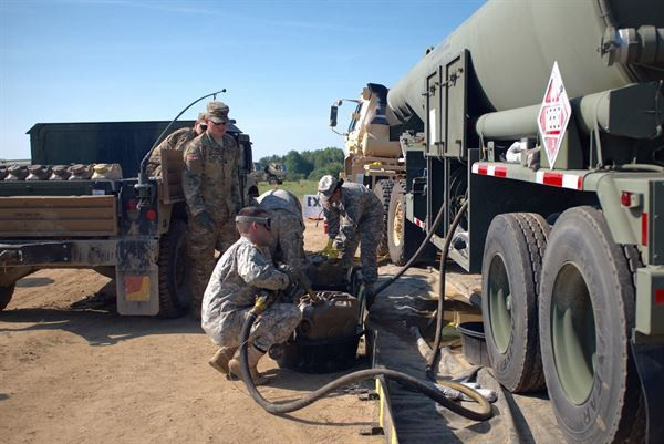 U.S. Army Reserve Quartermasters fuel the force at Exercise ...