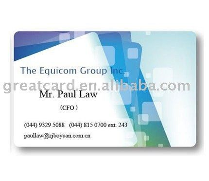 Name Card Sample - Buy Name Card Printing Services,Name Card ...