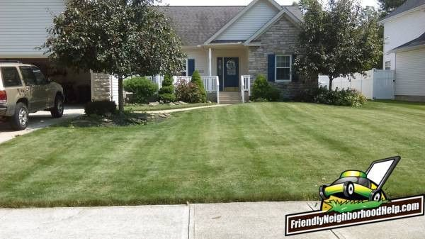 Lawn Care Bedford Ohio | Bedford OH Lawn Care | Friendly ...