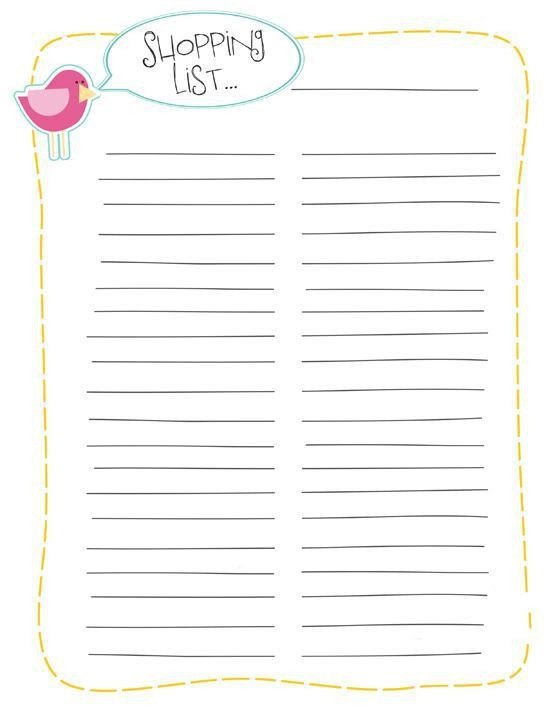 86 Best Printables - Lists & To Do's Images On Pinterest | Planner ...