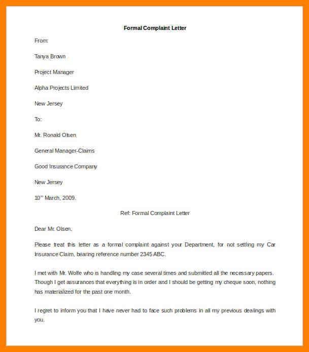 5+ formal letter example | addressing letter