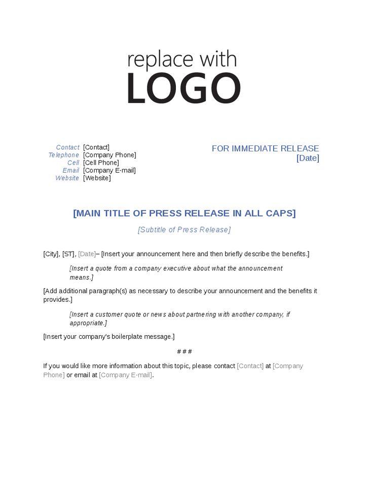 Press Release Template - vnzgames