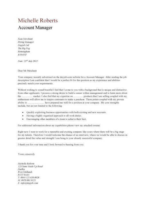 Graduate Trainee Cover Letter