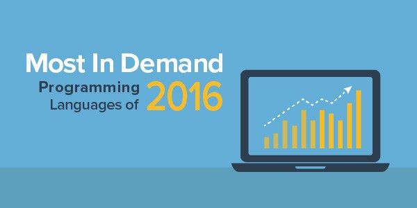 The 9 Most In-Demand Programming Languages of 2016 | Coding Dojo Blog