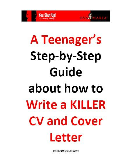 Cv writing for teenagers
