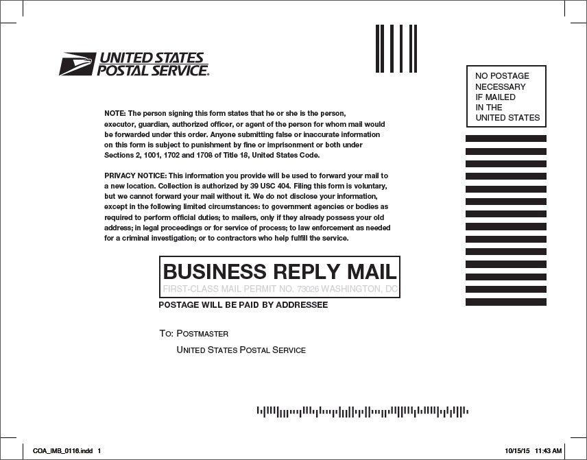 Change Address In Post Office - Techieblogie.info