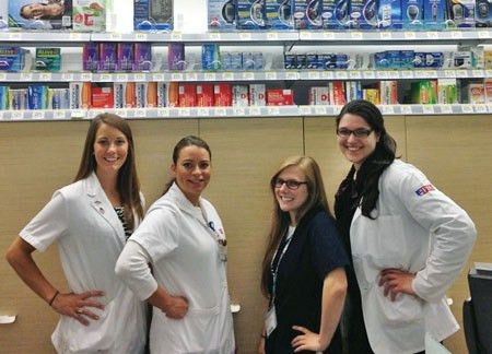From behind the counter pharmacy students reach out to the community
