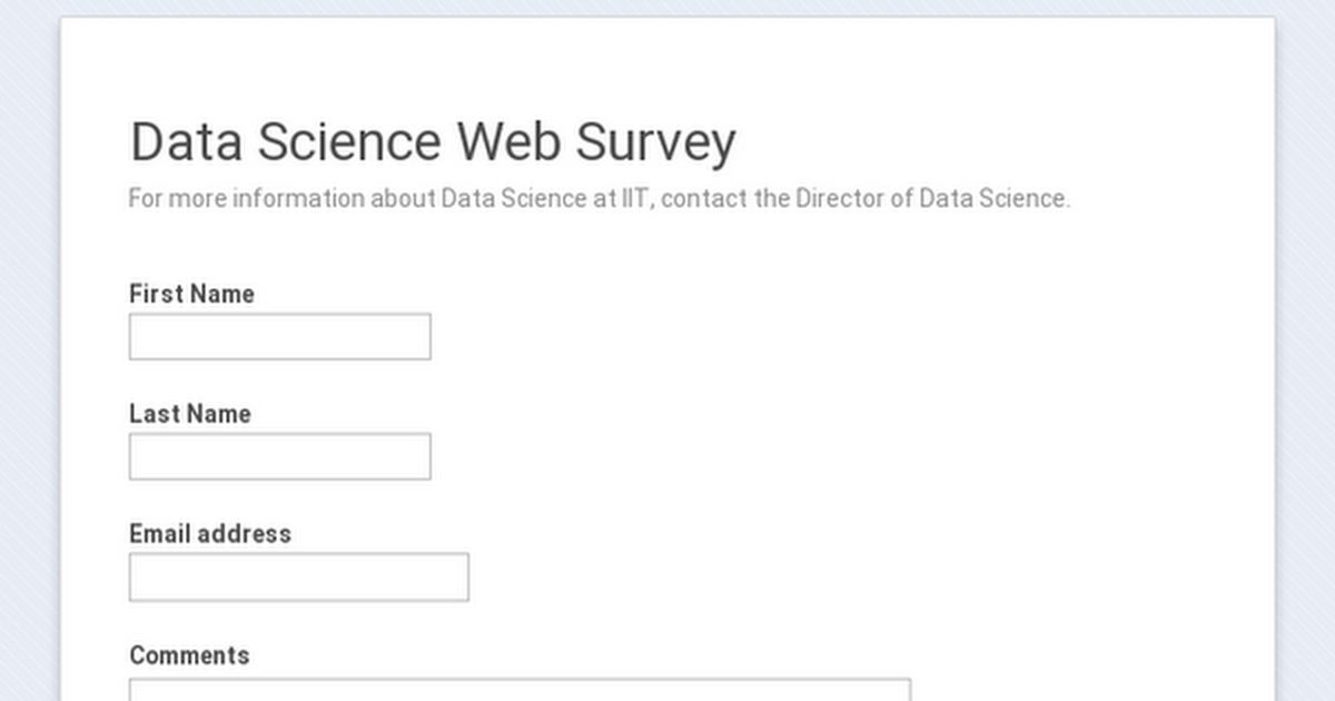Master of Data Science | IIT College of Science