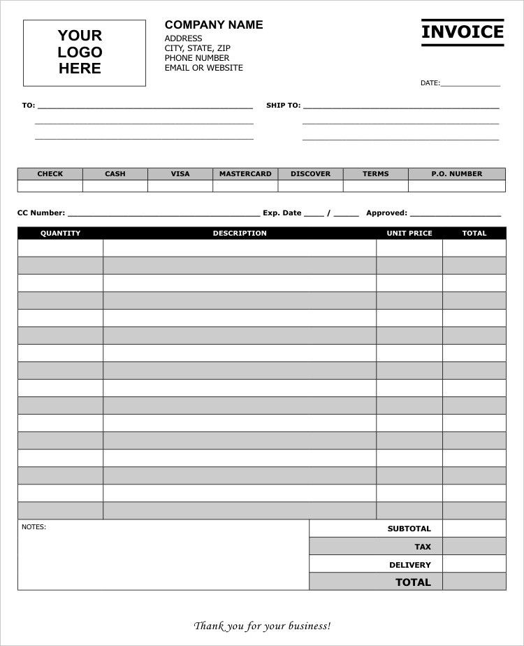 Carbonless Sales Receipt Templates to Personalize | Carbon Copies