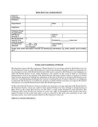 Film Contracts and Production Forms | Legal Forms and Business ...