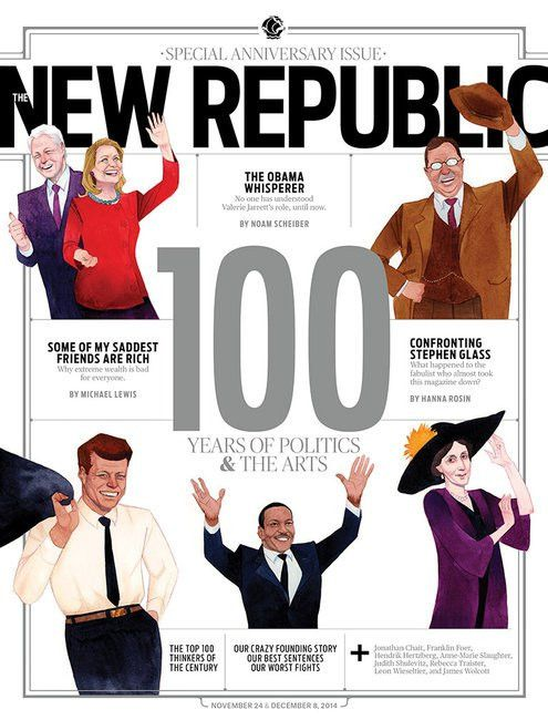 "The New Republic: a prime example of ""patronage journalism"" 