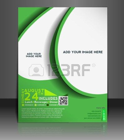 Football Competition Flyer & Poster Template Design Royalty Free ...
