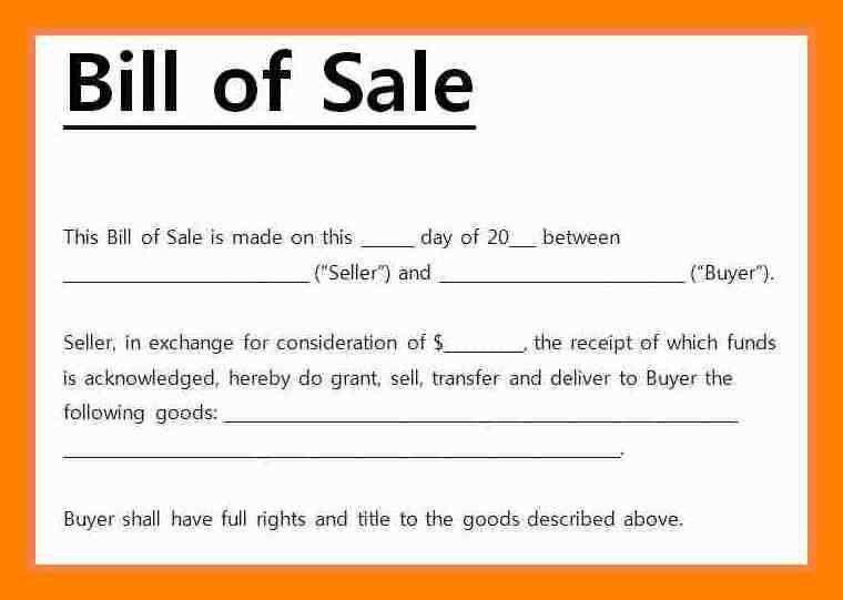 8+ bill of sale receipt | aplication format