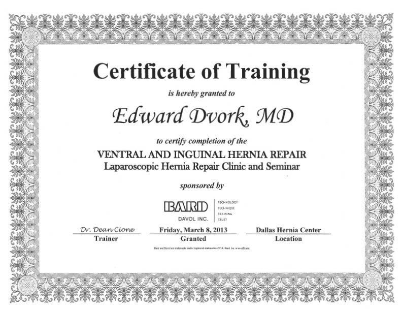8 Training Certificate Templates - Excel PDF Formats