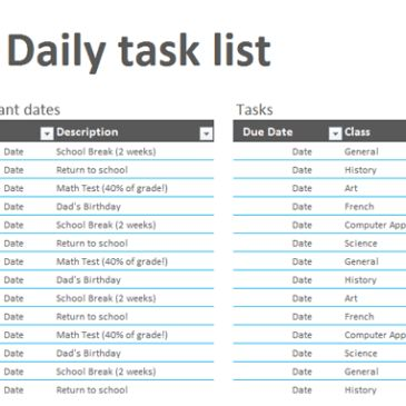 Work To Do List Template Archives - Word Templates