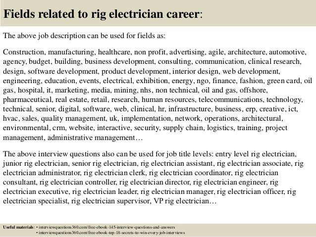 electrical foreman job description template. industrial ...