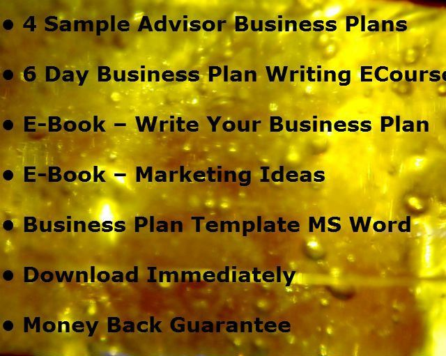 My Gift to YOU - Financial Advisor Marketing Plan Template - The ...