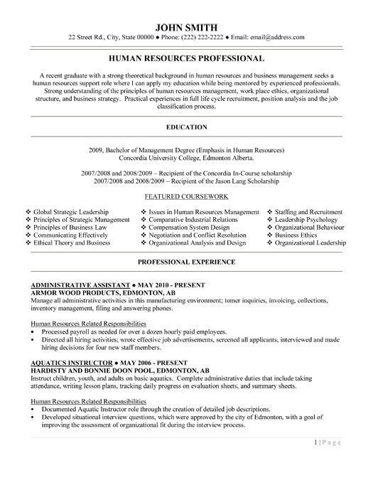 Administrative Assistant Resume Objective. Best 20+ Resume ...