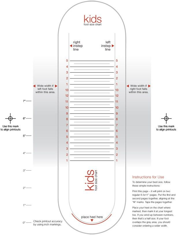 size charts + measurements - JCPenney