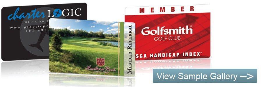 Custom Printed Plastic Membership Cards