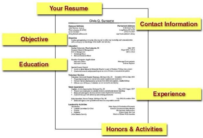 example of simple resume format resume format. simple resume ...