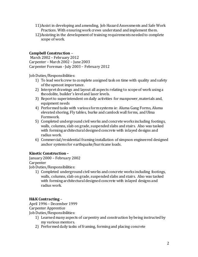 Resume of Sheldon Hall - _2
