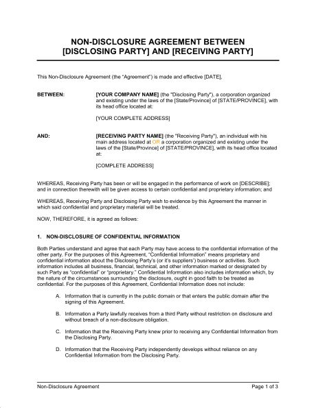 5 Contract Agreement Between Two Parties Samples - formats ...