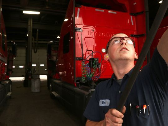Diesel-tech keeps supply chain trucking safely