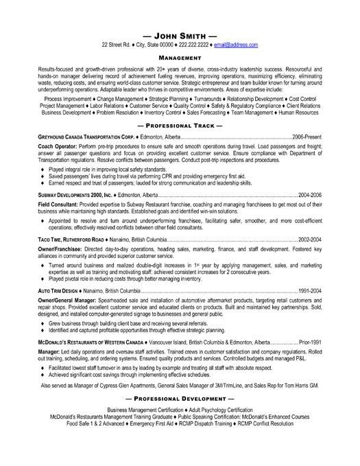 Resume Coach - Resume Example