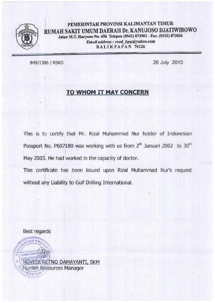 Certificates Rizal M Nur
