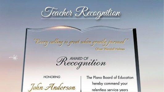 Teacher Gift Plaques for Appreciation, Recognition & Retirement ...