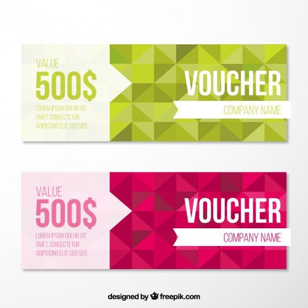 Gift voucher design Free Vector | Graphic - Header | Pinterest ...