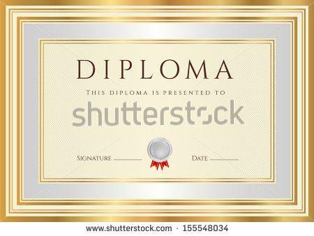 Diploma Frame Stock Photo 68424307 - Shutterstock