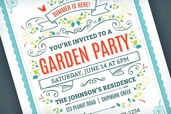 20+ Party Invitation Templates – Free Sample, Example, Format ...