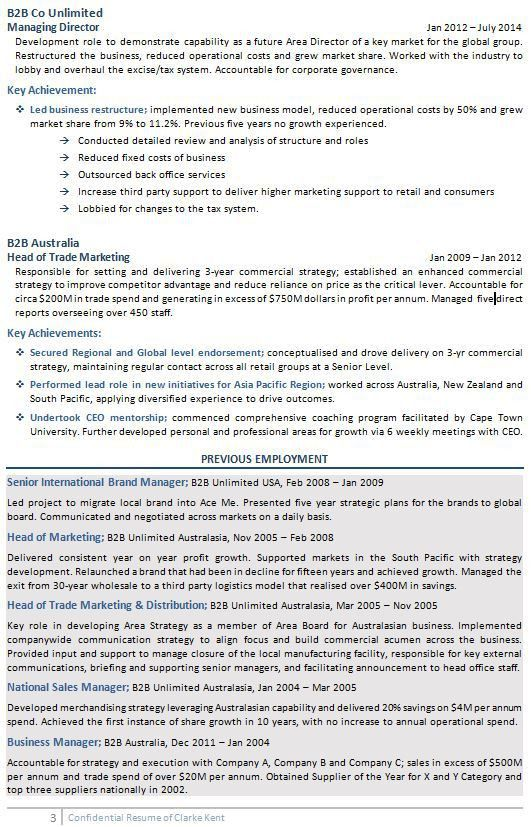 Executive Resume Examples