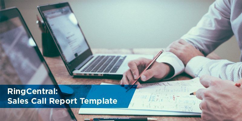 Free Sales Call Report Templates