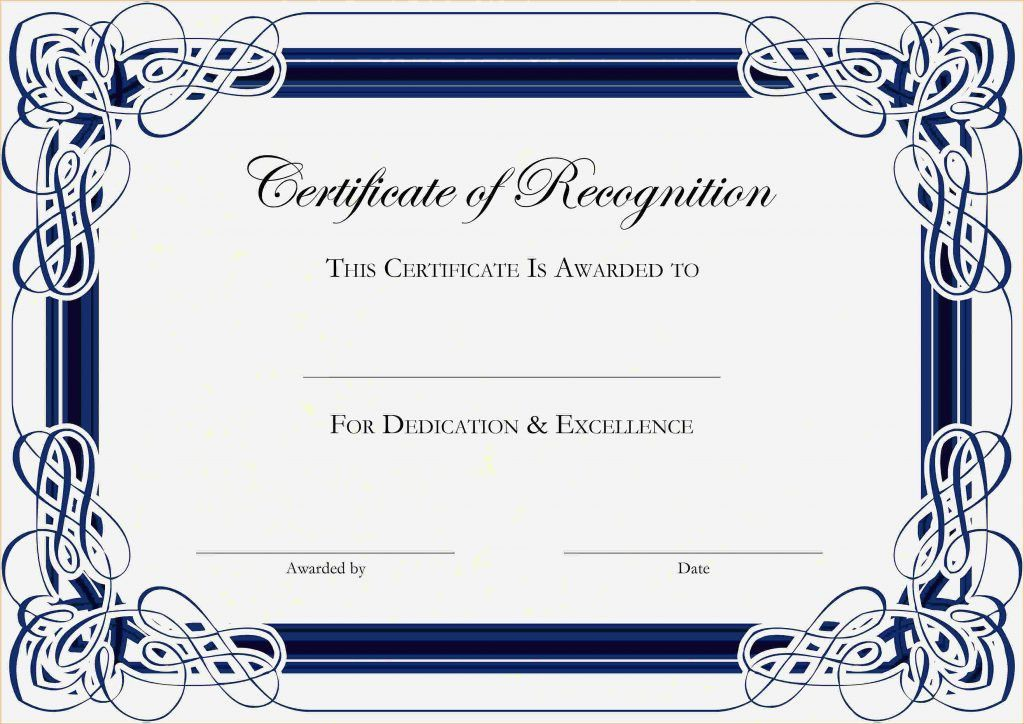 Army Certificate Of Appreciation Template How To Make A Receipt ...