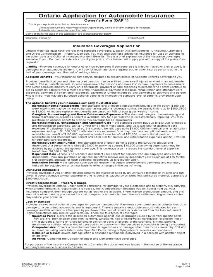 Auto insurance application form / State farm auto insurance discounts