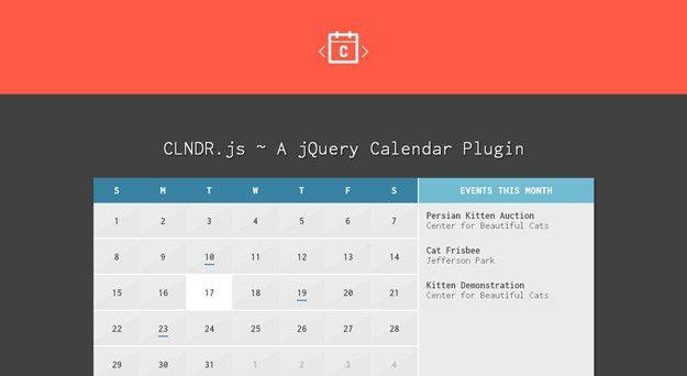 10 Best jQuery Calendar Plugins for Developers | Code Geekz