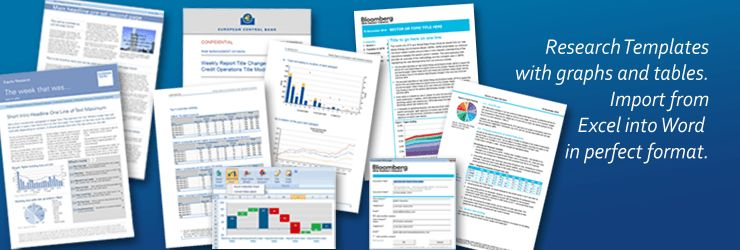 Word Templates and PowerPoint Templates