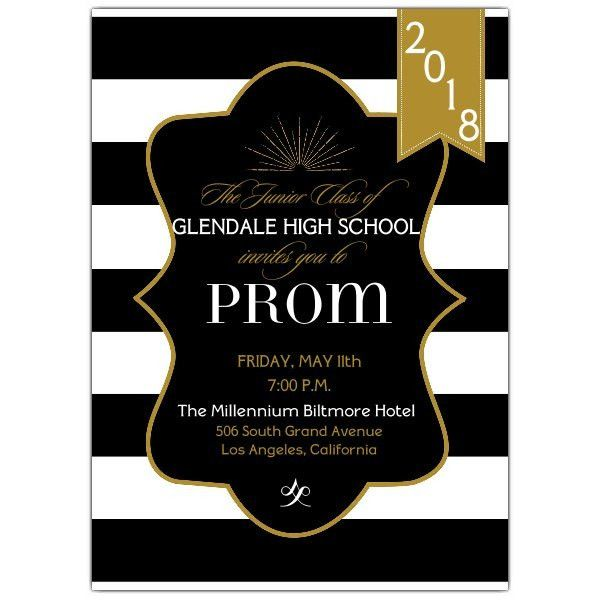 Prom Invitations | PaperStyle