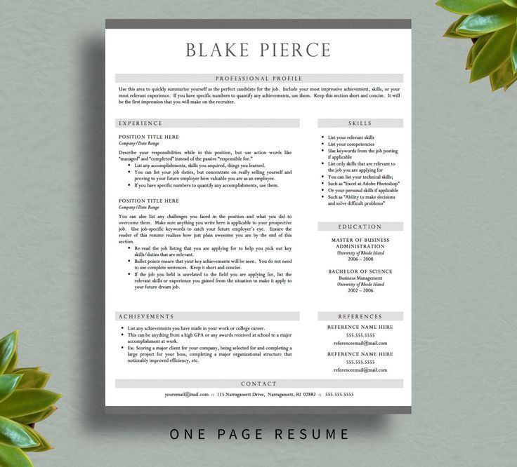 25 best Creative Resume Templates images on Pinterest | Resume ...