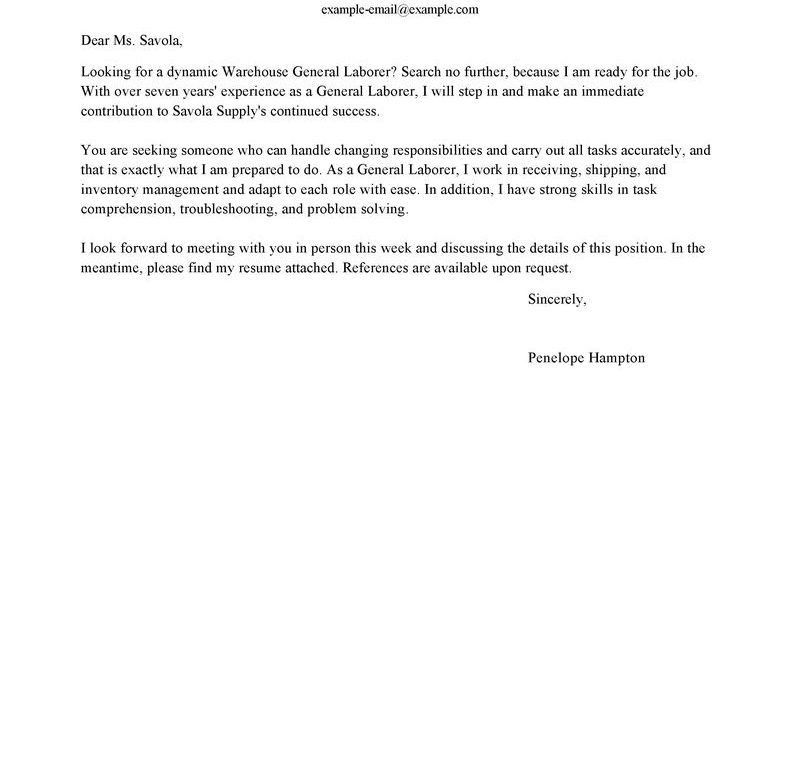 Unusual Design General Cover Letter For Resume 10 Amusing Generic ...