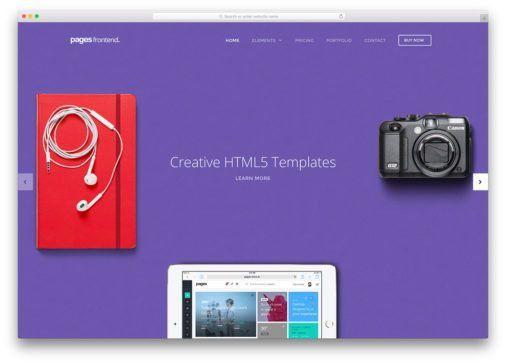 18 Best Minimal HTML5/CSS3 Website Templates 2017 - Colorlib