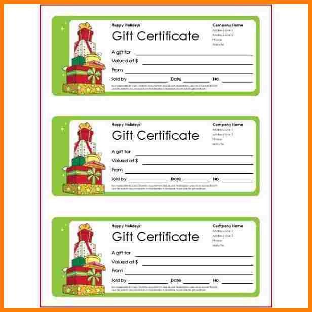 5+ gift certificate wording | letter format for