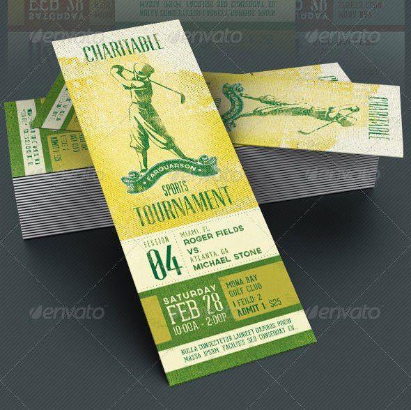 25 Awesome Ticket Invitation Design Templates   Web & Graphic ...
