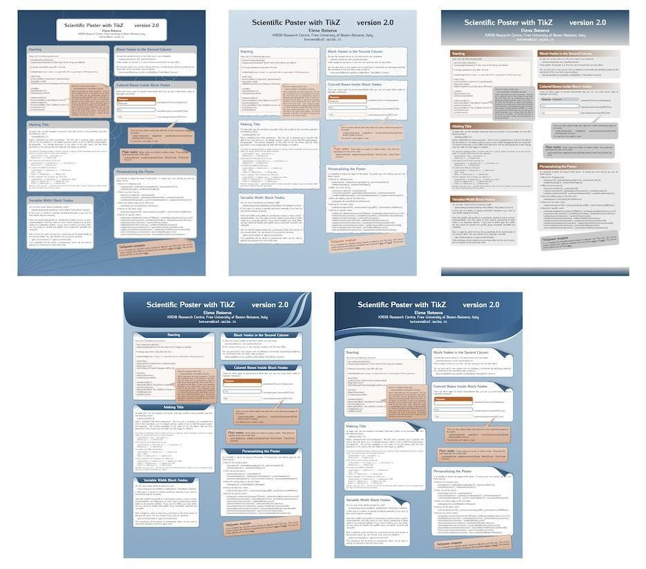 document classes - How to create posters using LaTeX - TeX - LaTeX ...