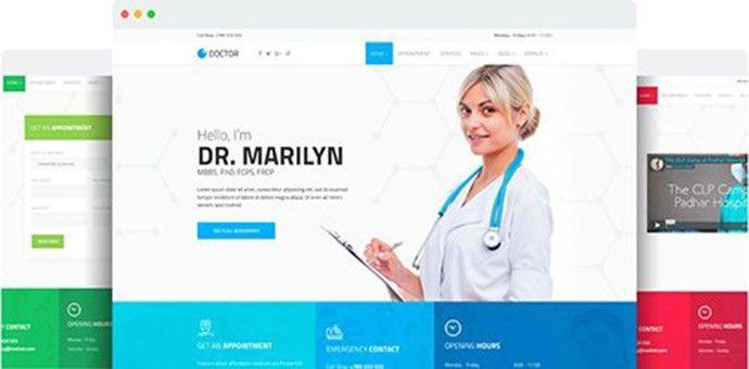 Doctor v1.7 - Medical Clinic Joomla Template | ScriptzNull.net