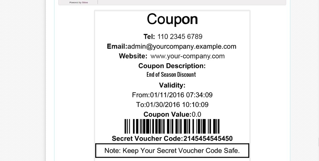 POS Coupons And Vouchers | Odoo Apps